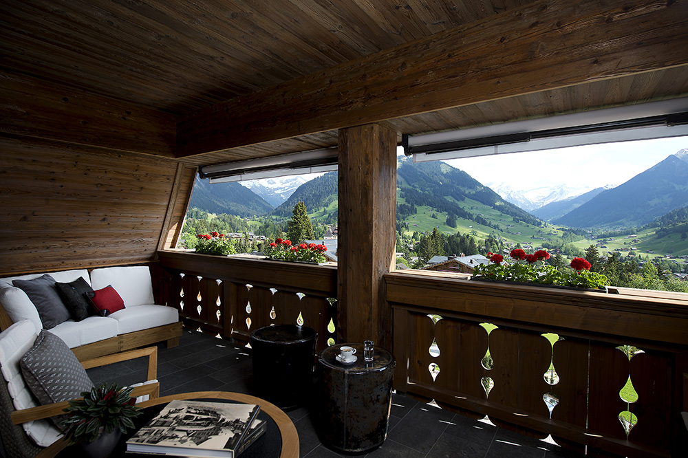Hotel The Alpina Gstaad shot magazine 1